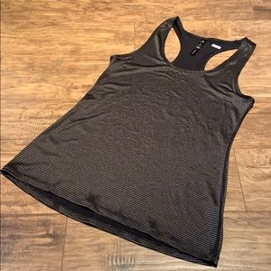 90 Degree gold and black tank top